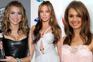 брондирование волос - знаменитости