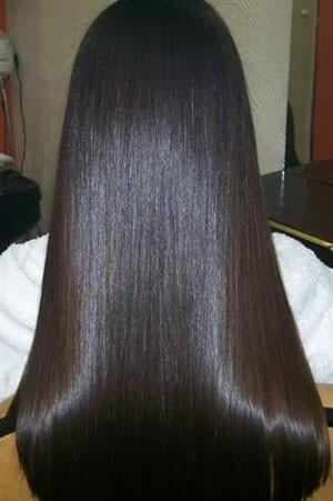 бразильское выпрямление волос